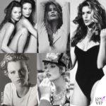 Naomi, Eva, Kate, Cindy: l'Amarcord è social