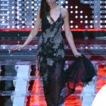 Marica Pellegrinelli in Atelier Versace