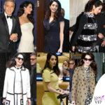 Amal Clooney, 162mila euro di prémaman