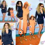 Mariah e famiglia in pendant sul red carpet