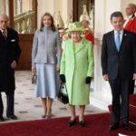 Juan Manuel Santos in visita a Londra
