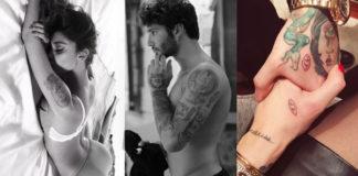 tatuaggi di coppia, ilary blasi, belen rodriguez, melissa satta