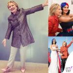 Katy Perry ha fatto le scarpe a Hillary Clinton