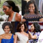 Michelle Obama, i capelli <i>nature</i> spopolano