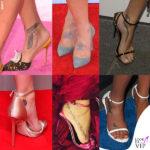 Arriva il caldo, le star scoprono i piedi tatuati