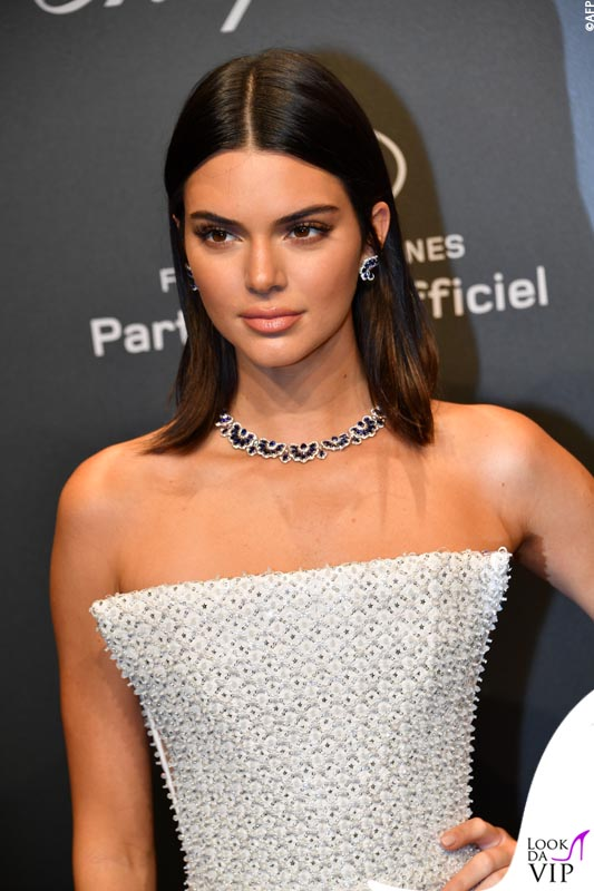 Kendall Jenner, collier Chopard