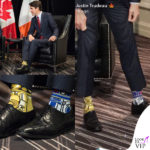 Justin Trudeau, forza di <i>Star Wars</i> nei calzini