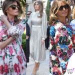 Melania in Italia: una sfilata Dolce & Gabbana