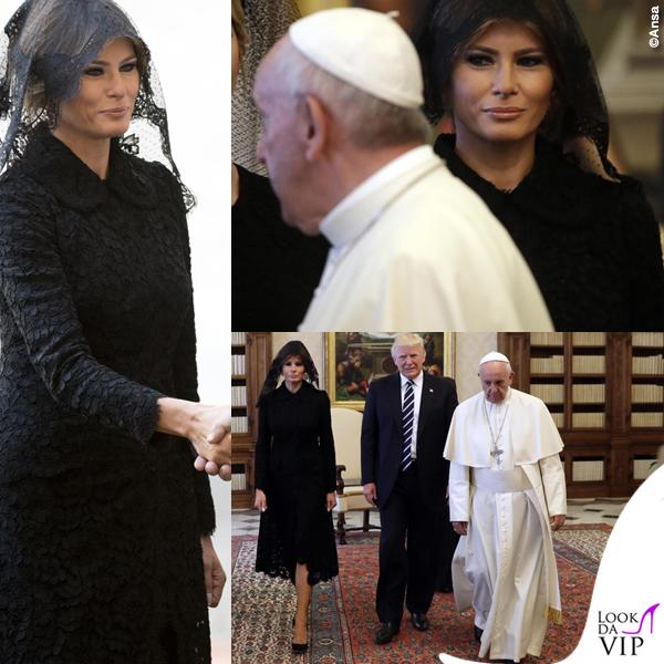 melania-trump-vaticano-cappotto-dolce-gabbana