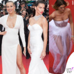 A Cannes le modelle vanno in bianco