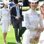 Kate Middleton, look sponsale al Royal Ascot