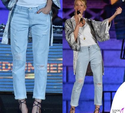 alessia-marcuzzi-wind-kimono-coast-weber-ahaus-jeans-current-elliott-top-hm-sandali-aquazzura-3