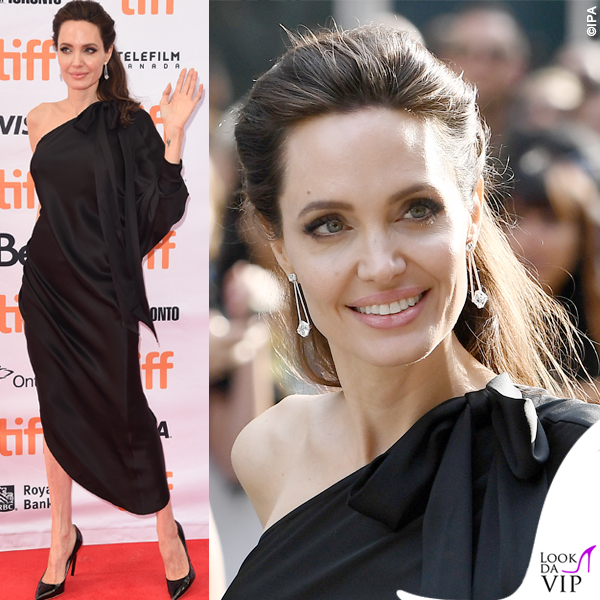 Angelina Jolie al Toronto Film Festival, abito Ralph & Russo