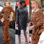 Jane Fonda fa la tigre e incontra la pantera