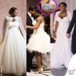 Serena Williams sposa con le Nike ai piedi