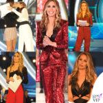 GF Vip 2017: tutti gli outfit di Ilary Blasi