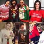 Da Nek a Emma: vip col maglione delle feste