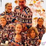 Cenone in pigiama per Tori Spelling
