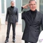 Claudio Baglioni vestirà abiti E. Scervino