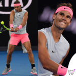 Rafael Nadal mostra i muscoli… in rosa
