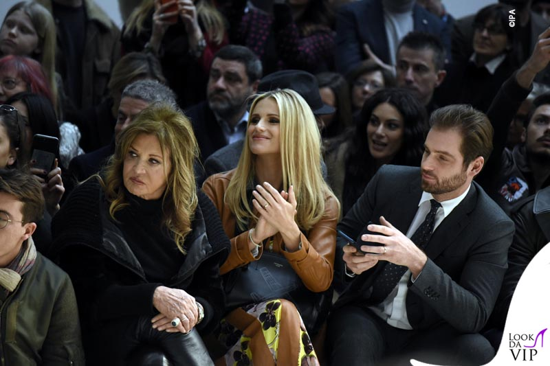 b5a9372eca Milan Fashion Week, Milano Moda Donna, autunno inverno 2019. Sfilata ...
