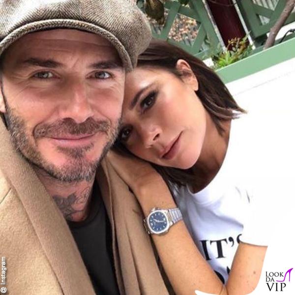 Vicktoria Beckham e David Beckham