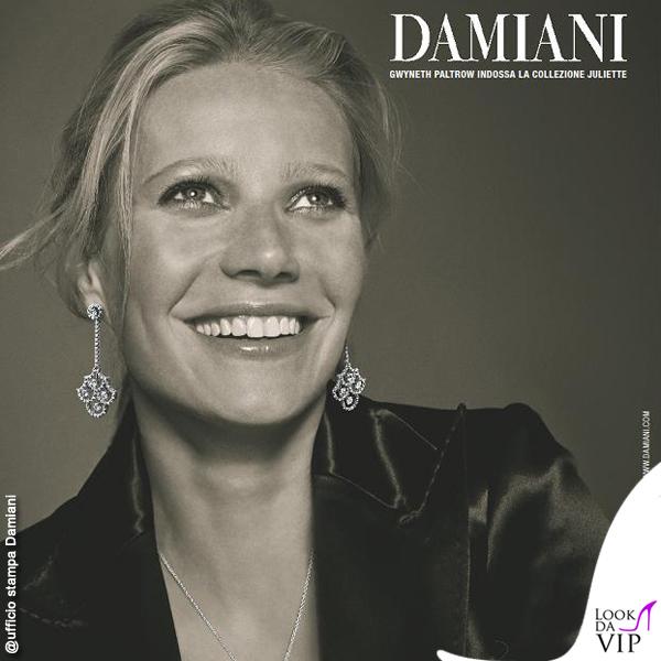 Gwineth Paltrow testimonial Damiani Juliette