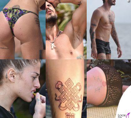 Isola dei famosi tatuaggi Atzei Monte De Martino Nasti Bossari Marini