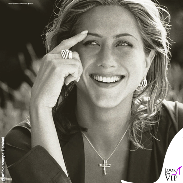 Jennifer Aniston testimonial Damiani San Lorenzo