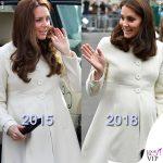 Kate ricicla il cappottino: si risparmia?