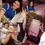 Nella camera da letto di Kendall Jenner
