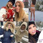 Look da neve: dalla pelliccia al tanga
