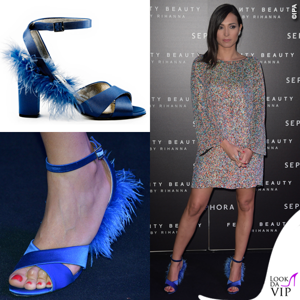 Caterina Balivo Fenty Beauty Sephora scarpe Madame Cosette 2
