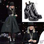 Diane Keaton David di Donatello 2018 scarpe Louis Vuitton