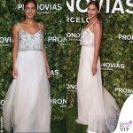 Irina Shayk indossa l'abito Joanna Pronovias