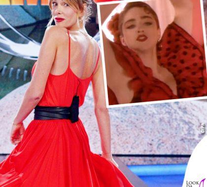 Madonna La Isla Bonita Alessia Marcuzzi Isola dei Famosi
