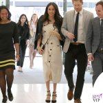 Principe Harry Meghan Markle abito Altuzarra giacca Camilla and Marc scarpe Tamara Mellon borsa Orton 2