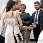 Principe Harry Meghan Markle abito Altuzarra giacca Camilla and Marc scarpe Tamara Mellon borsa Orton 9
