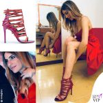 Eleonora Pedron scarpe Simone Castelletti