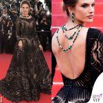 Alessandra Ambrosio Cannes 2018 abito Zuhair Murad Couture