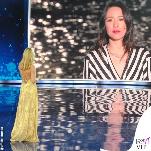 Aurora Ramazzotti Michelle Hunziker Vuoi Scommettere abito Genny