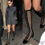 Bella Hadid stivali Dior