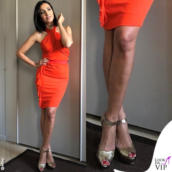 Caterina Balivo asta eBay sandali Le Silla