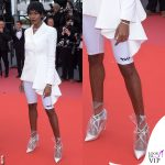 Damari Lewis Cannes 2018 completo Off White