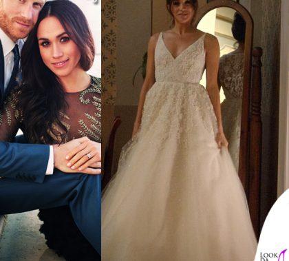 Megan Markle abito Ralph & Russo abito da sposa Anna Barge