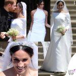 Meghan Markle, il vestito da sposa Givenchy