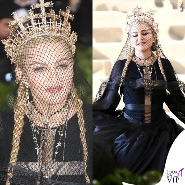 Met 2018 Madonna in Jean Paul Gaultier