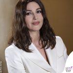 Monica Bellucci in bianco per la crema Nivea