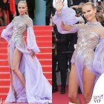 Natasha Poly Cannes 2018 abito Atelier Versace