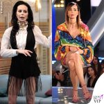 Nina Moric Grande Fratello quinta e sesta puntata total look Elisabetta Franchi abito Attico